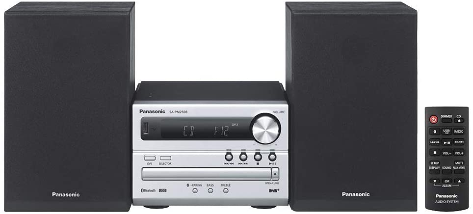 Minicadenas con Bluetooth SC-PM250EC-S de Panasonic